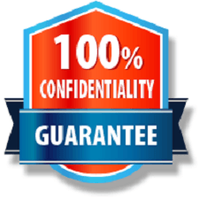 100% confidentiality