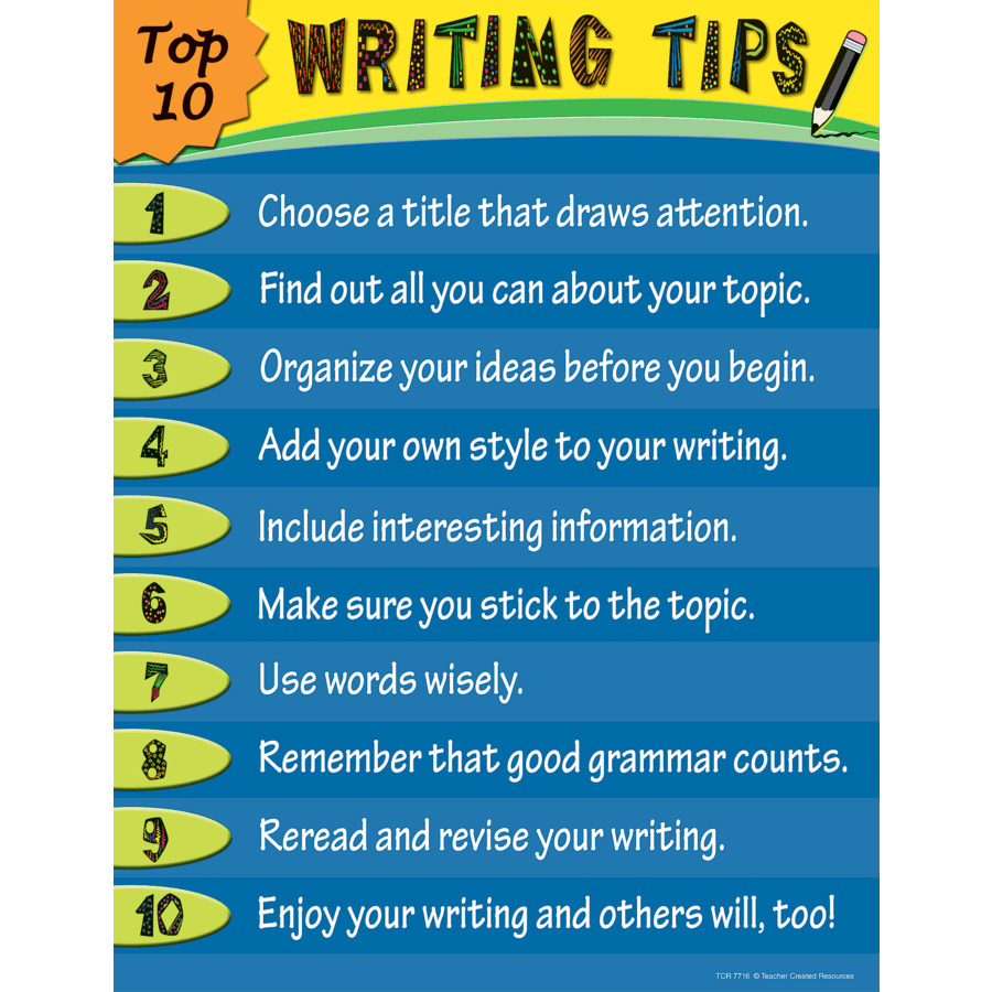 top 10 essay writing tips